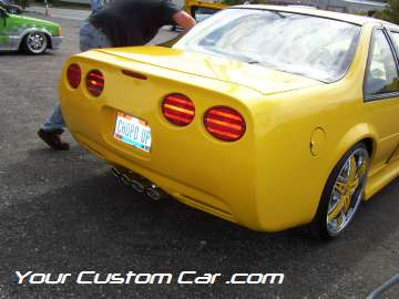 drop em wear show, car truck show, custom minitruck, custom car, custom beretta vette