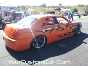 2011 drop em wear show, custom 300c, 300c donk, 300c lowrider