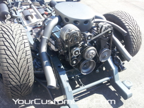 2011 drop em wear show, custom dually, rolling chassis