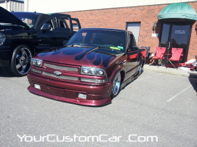 2011 drop em wear show, custom s-10