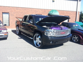 2011 drop em wear show, custom denali