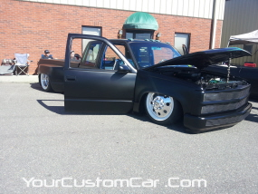 2011 drop em wear show, dually with alcoas and whitewalls