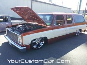 2011 drop em wear show, slammed suburban, lowered suburban, custom burban