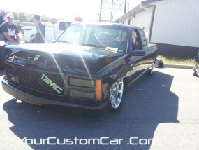 2011 drop em wear show, custom gmc sierra