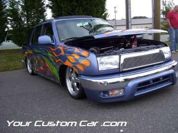 drop em wear show, car truck show, custom minitruck, custom car, custom 4 runner