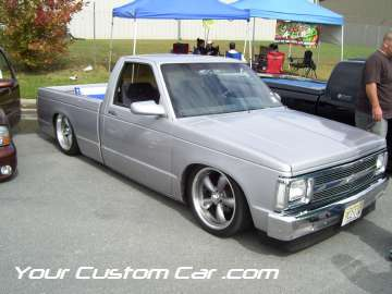 drop em wear show, car truck show, custom minitruck, custom car, custom dropped s10
