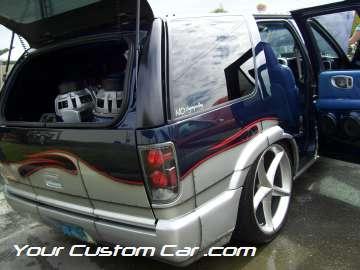 drop em wear show, car truck show, custom minitruck, custom car, custom blazer