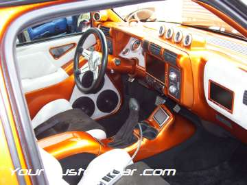 drop em wear show, car truck show, custom minitruck, custom car, custom s10 interior