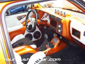 drop em wear show, car truck show, custom minitruck, custom car, custom s10 interior