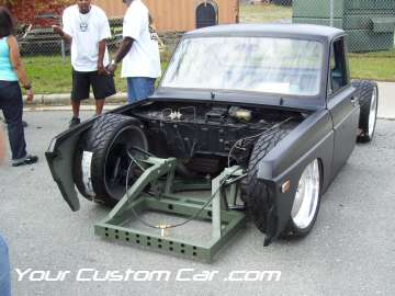 drop em wear show, car truck show, custom minitruck, custom car, custom chassis