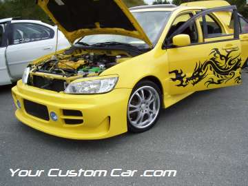 drop em wear show, car truck show, custom minitruck, custom car, custom mazda