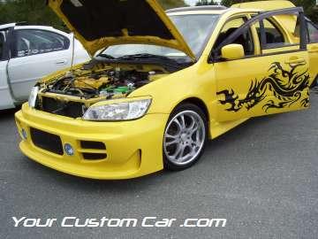 drop em wear show, car truck show, custom minitruck, custom car, custom mazda