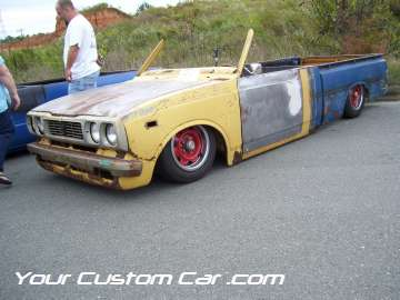 drop em wear show, car truck show, custom minitruck, custom car, custom chop top