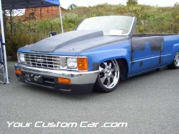 drop em wear show, car truck show, custom minitruck, custom car, custom nissan mini