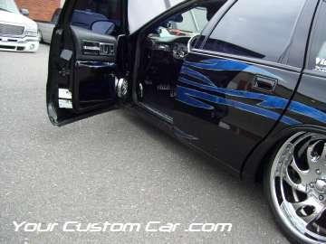 drop em wear show, car truck show, custom minitruck, custom car, custom impala paint