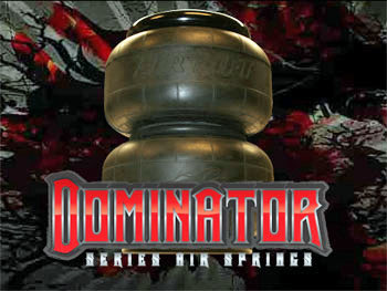 dominator 2500 air bags, d2500, airlift, easystreet, dominator, air bag suspension, best air bag