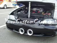 Mustang custom air scoops