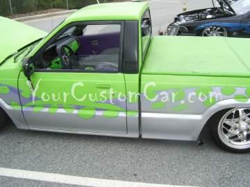 Green Minitruck