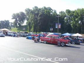 friends in low places car show, kik show, winston salem car show