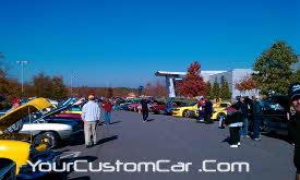 hendrick's montorsports car show