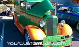 1936 chevy panel truck