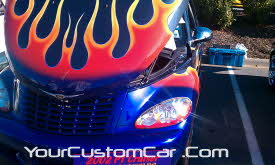 Custom flame pt cruiser