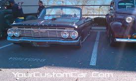 slammed 61 impala