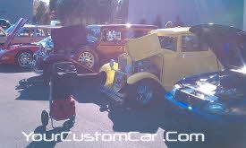Hendric Motorsports car show