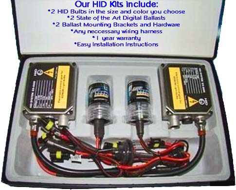 hid lights, hid kit, xenon, conversion kit, for cars, custom head lights, 9004, hi, low, beam