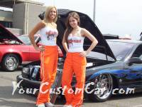 Hooters Girls YourCustomCar.com