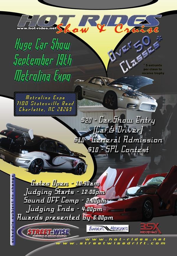hot rides showf flier 9-19
