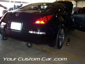 custom nissan 350z