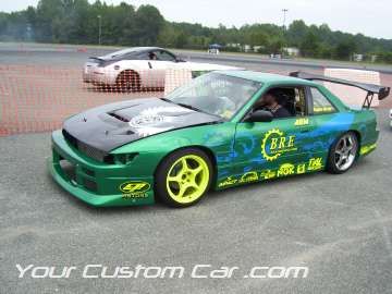 B.R.E. drift car