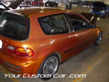 custom civic hatch