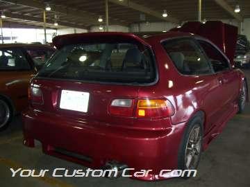 Custom civic hatchback