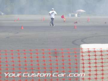 drifting course cones