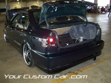 Custom honda civic trunk