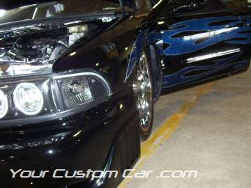 Impala ss air suspension tucking 20 inch rims hid lights tribal paint