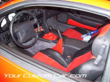 Custom Stealth interior