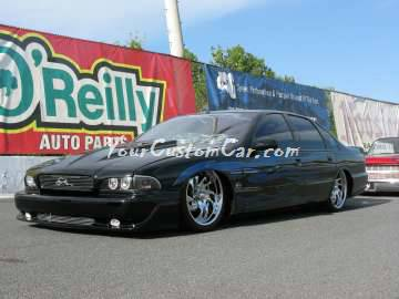 Pebble Pushers Scr8pFest members rides cars trucks custom Impala SS