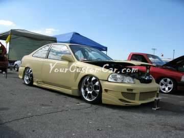 Scr8pfest 11 car show custom honda