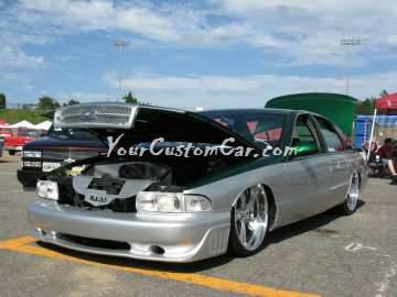 Scr8pfest 11 car show 2 tone 95 Impala SS