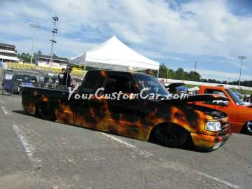 Scr8pFest custom painted truck