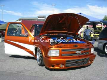 custom orange s10 Scr8pFest