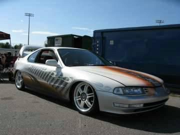 Scr8pfest 11 car show custom prelude
