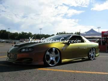 Scr8pfest 11 car show custom camaro