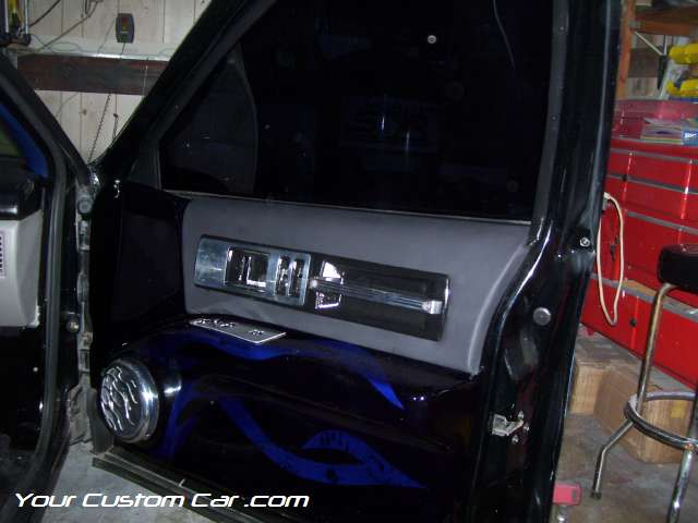 how to custom door panels, impala ss door panels