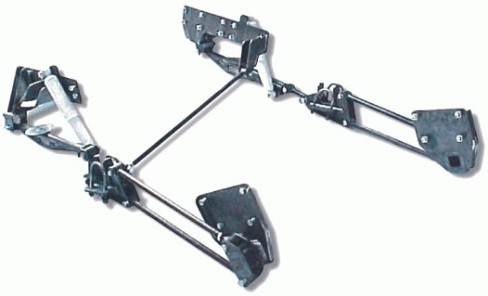 kpc, bolt on, 4 link, cantilever, kit, notch, re 7, 88-98, 1500, chevy