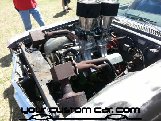 layed out at the park, 2013, yourcustomcar, truck show, car show, ratrod engine