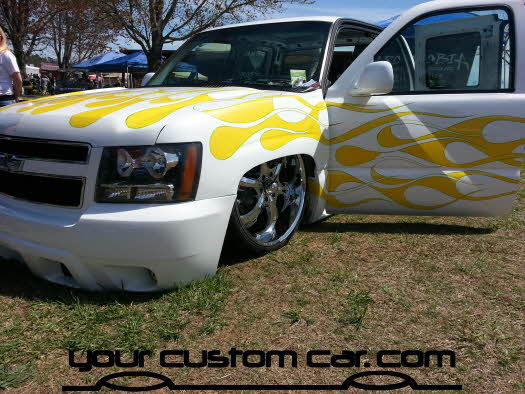 layed out at the park, 2013, silverado on airbags, yourcustomcar, truck show, car show